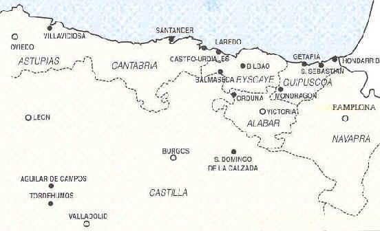 Espagne : villes neuves en Espagne médiévale. Cartes et Plans.
